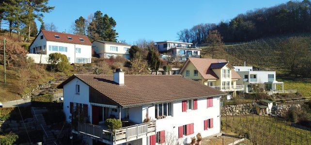 Einfamilienhaus mitten im Rebberg